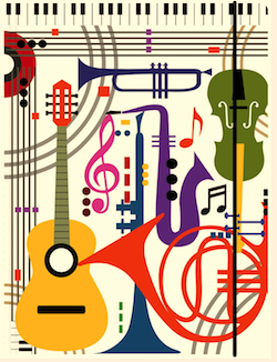 Musical Instruments Graphic
